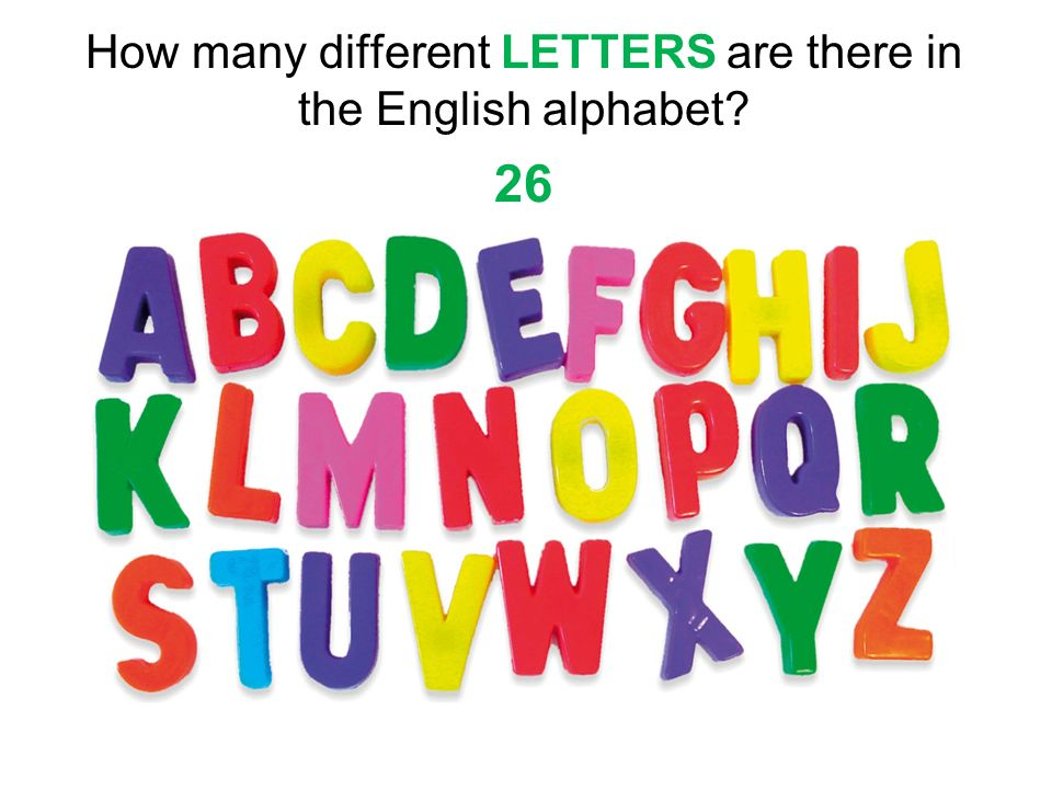 how many letters are in the alphabet aim what are some ways we can classify molecules ppt 22172 | How many different LETTERS are there in the English alphabet