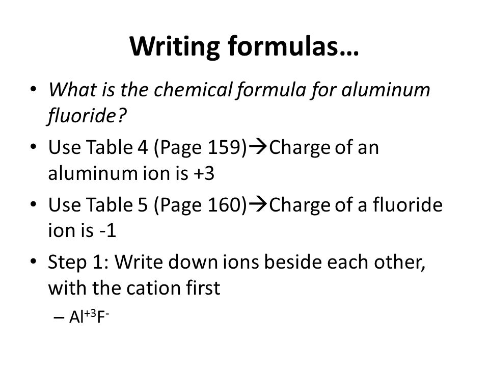 Compound Names And Formulas Ppt Download