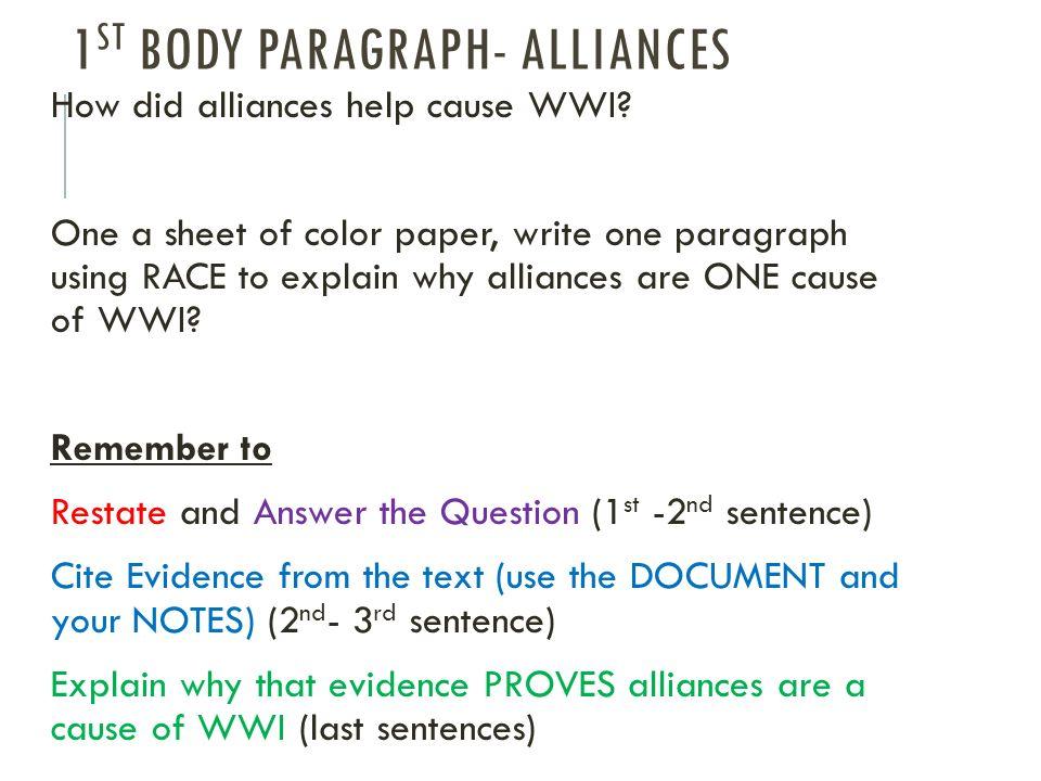 Causes of wwii dbq essay