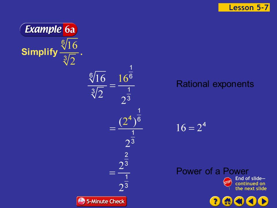 57 Rational Exponents Basic Concept Ppt Download. Rational Exponents Power Of A Exle 76a. Worksheet. Rational Exponents Worksheet Answers 5 7 At Clickcart.co