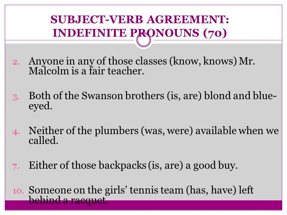 Either Subject Verb Agreement Images Agreement Letter Sample Format