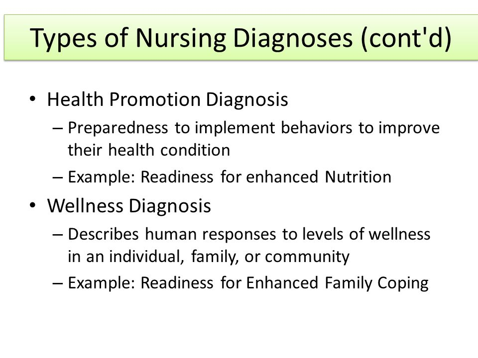 nursing diagnosis related to family