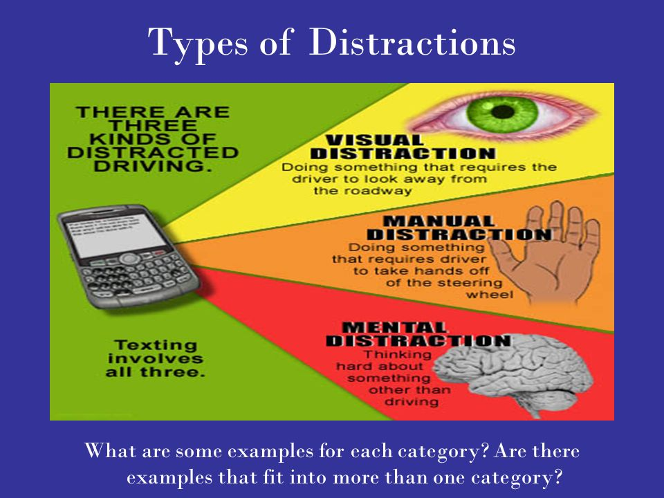 Dangers of Distracted Driving - ppt download