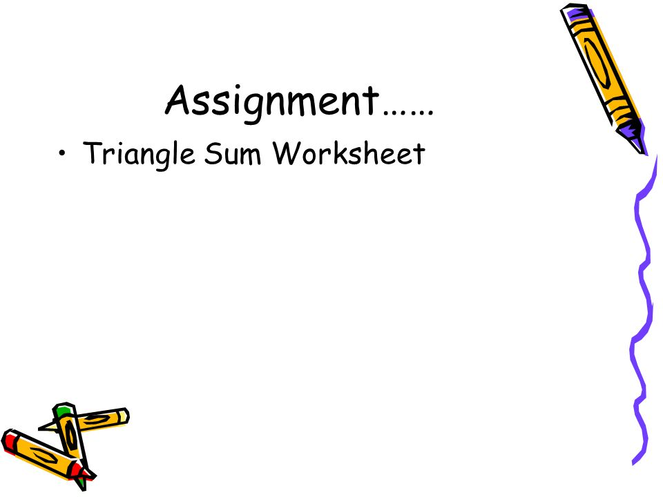 Triangles Sum Ppt Download
