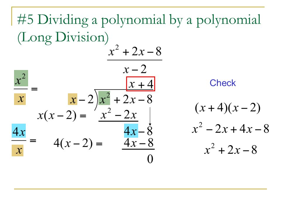 Dividing Polynomials Synthetic Division And Long Methods. 6 5 Dividing A Polynomial. Worksheet. Worksheet Long Division Of Polynomials A 5 4 At Clickcart.co