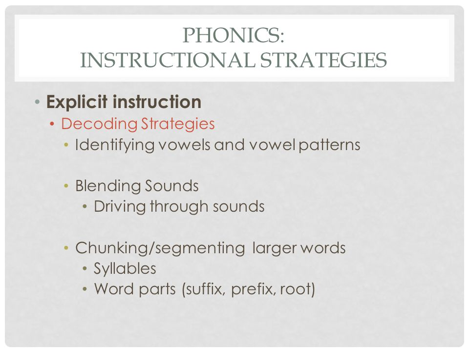 Day 1 Word Recognition Phonics Fluency Comprehension Ppt Video