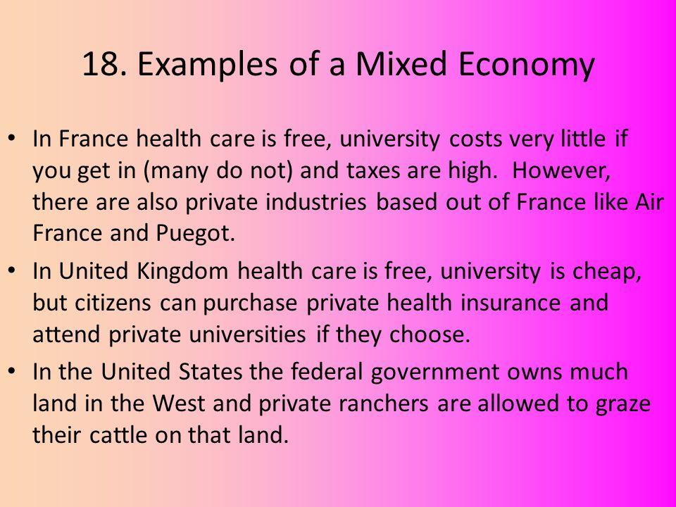 16 Mixed Economy Mixed Economies Exist Somewhere Between Command
