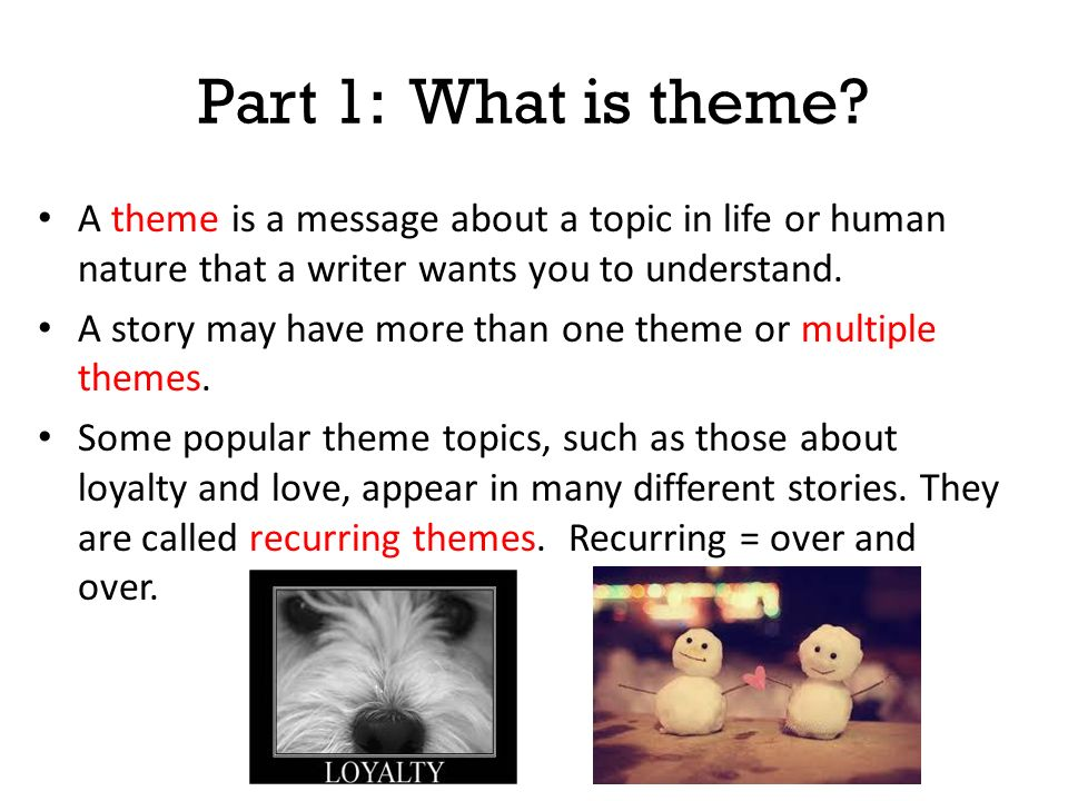 recurring themes in literature