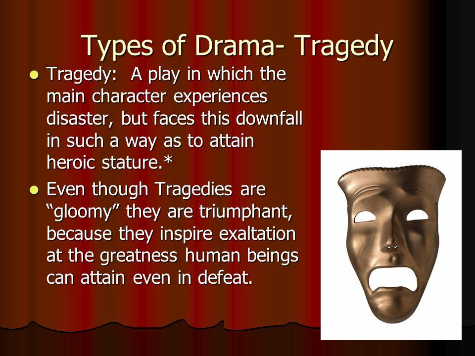 four types of drama
