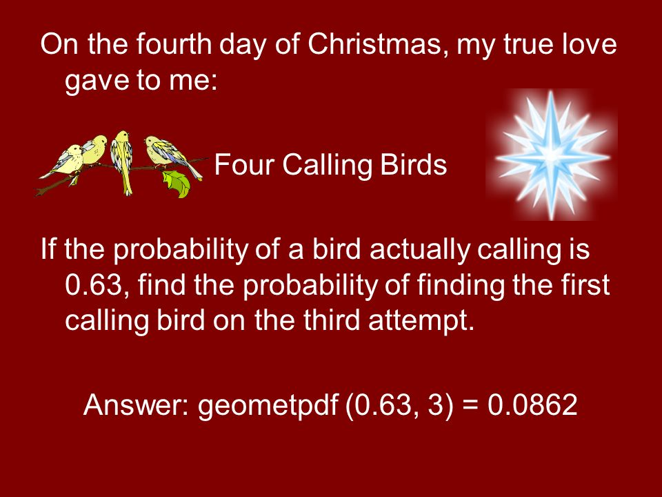 5 on - When Is The First Day Of Christmas