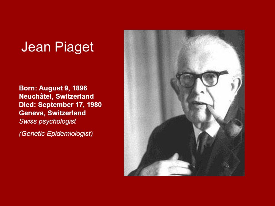 jean piaget family background