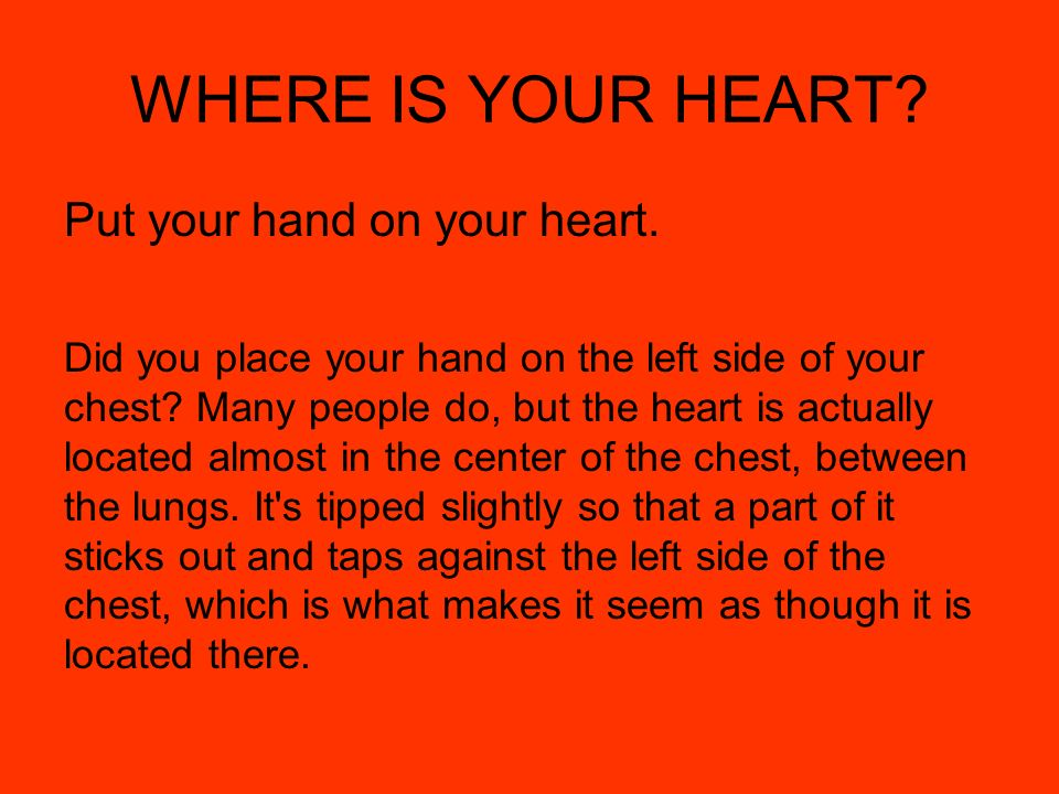YOUR HEART. - ppt video online download