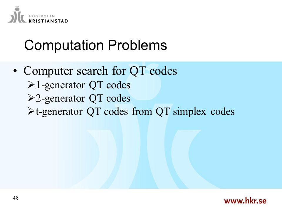 Some Computation Problems in Coding Theory - ppt video online download