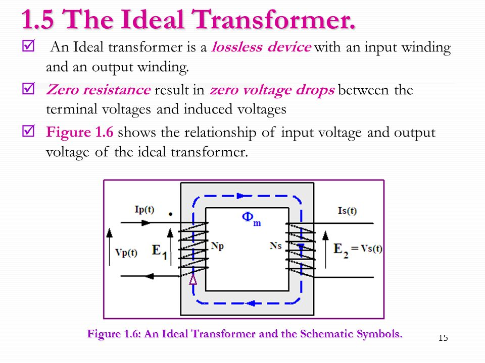 CHAPTER 1 Transformer School of Computer and Communication ...