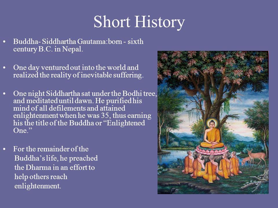 short story of buddha life