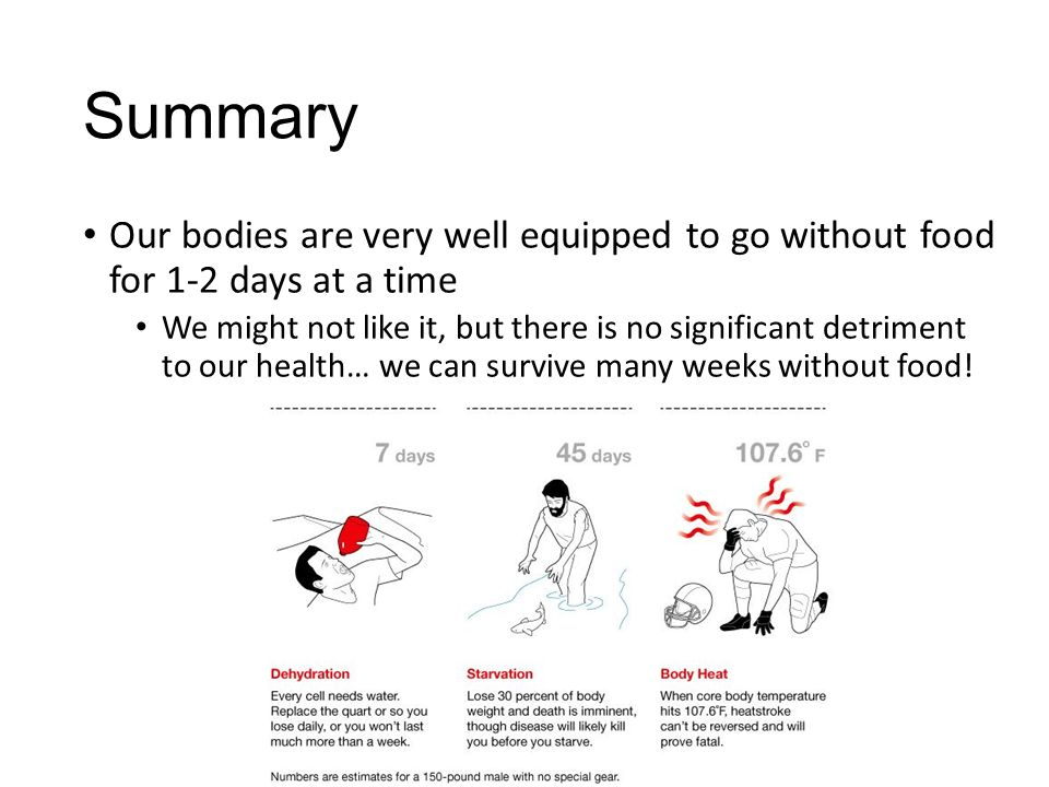 Faster Fat Loss Intermittent Fasting Vs Starvation Mode Ppt
