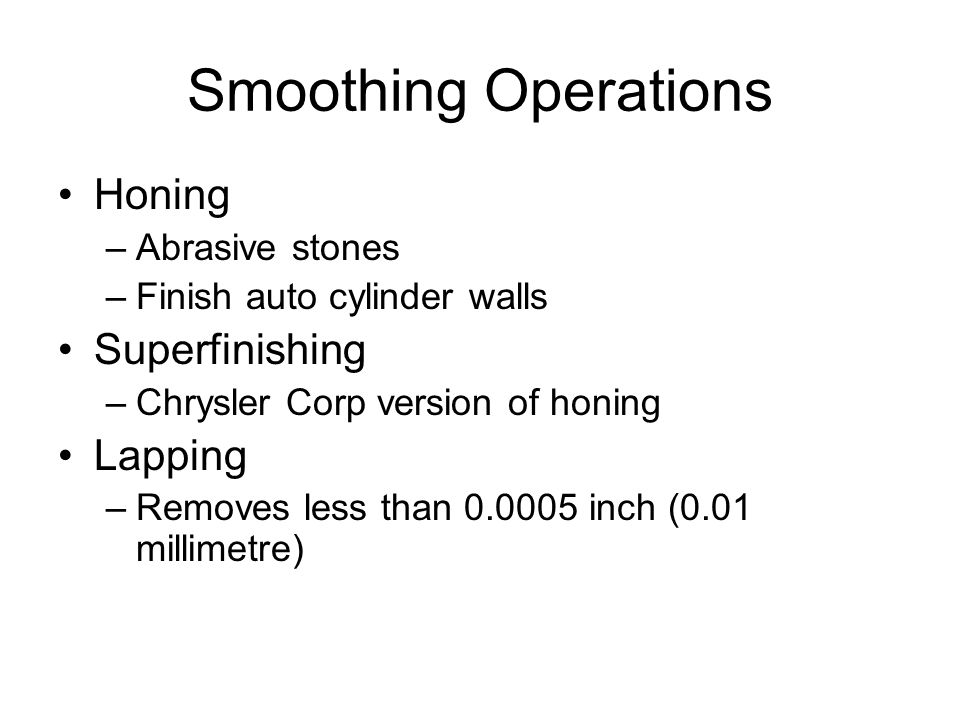Mechanical Surface Finishing Processes - ppt video online