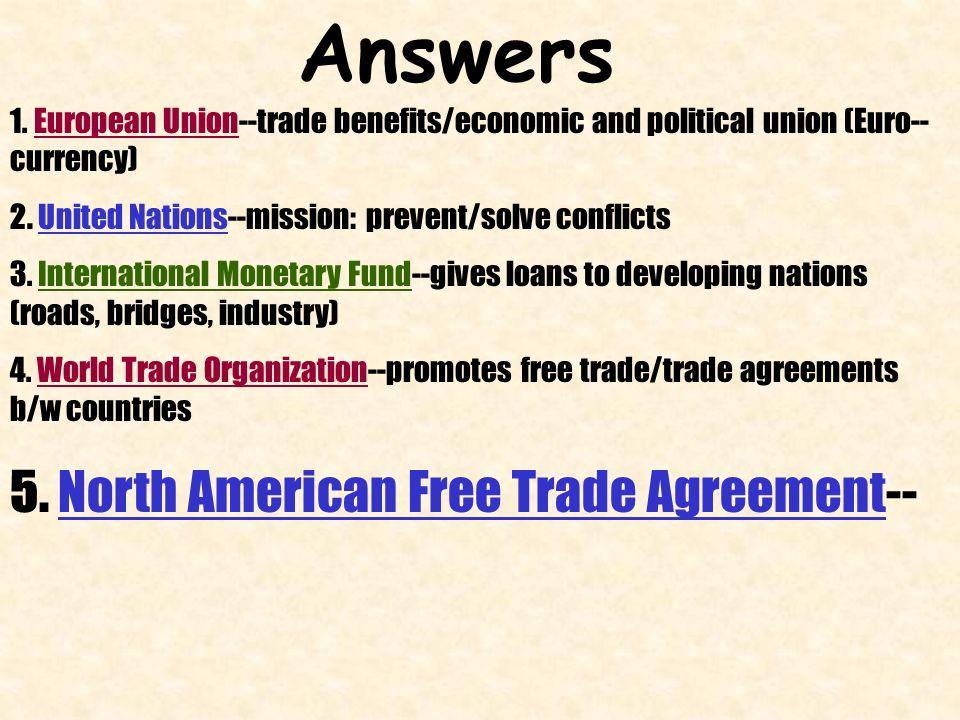 World Interdependence World Organizationstrade Agreements Ppt