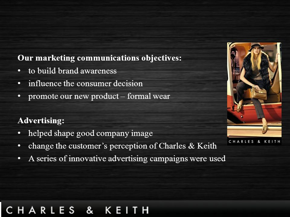 charles and keith marketing analysis