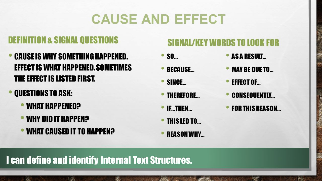 Internal Text Structure - ppt video online download