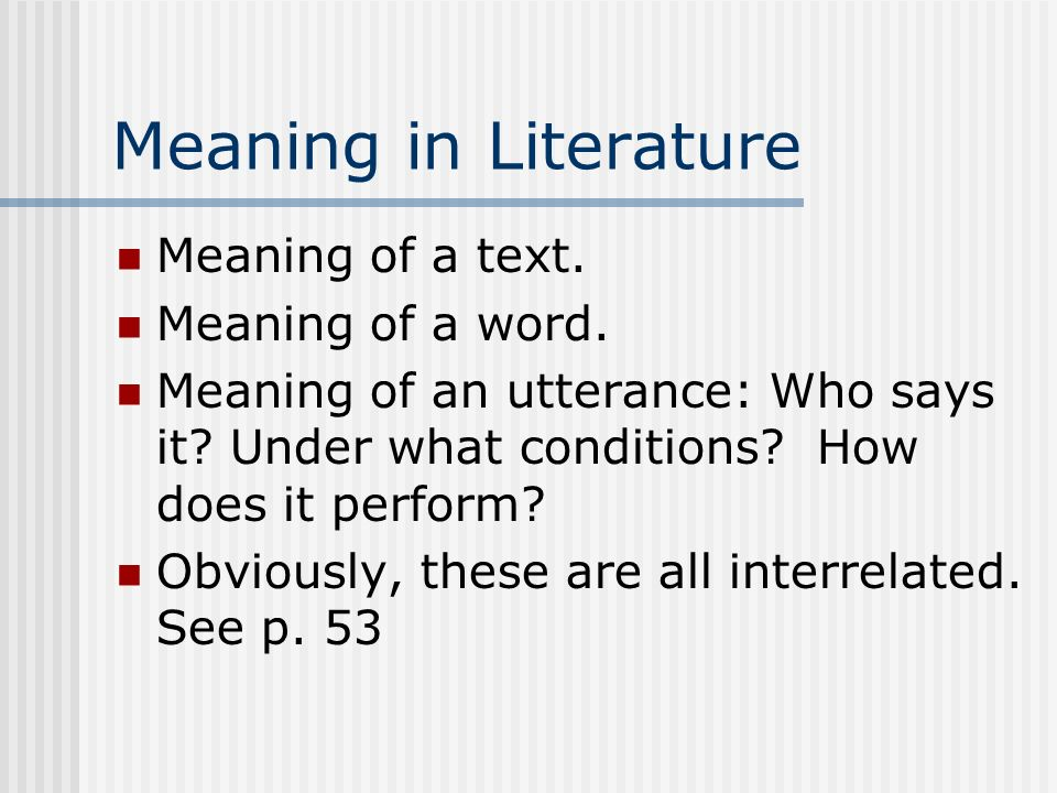 Language Meaning Interpretation Ppt Video Online Download