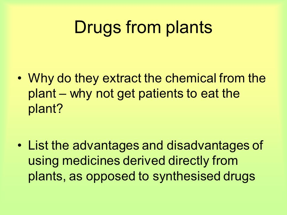 Where do our pharmaceutical drugs come from?  - ppt video