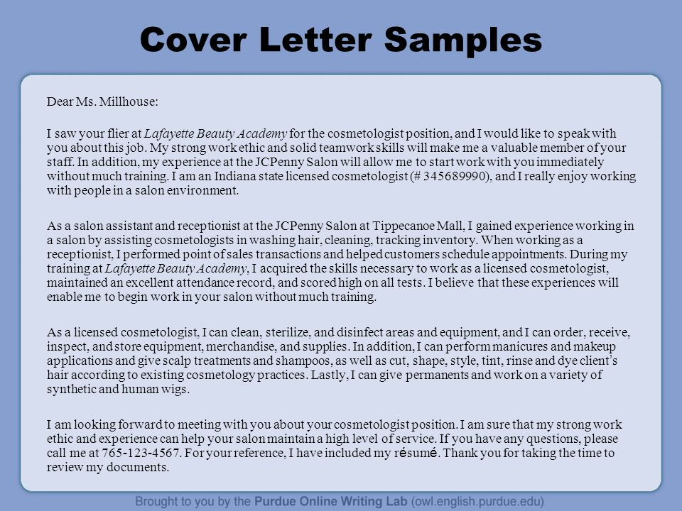 """Cover Letter Workshop Rationale: Welcome to the """"WorkOne Job ..."""