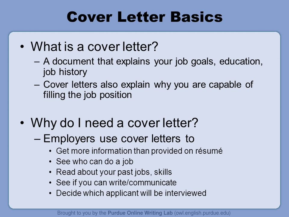 Cover Letter Workshop Rationale Welcome To The Workone Job Letters
