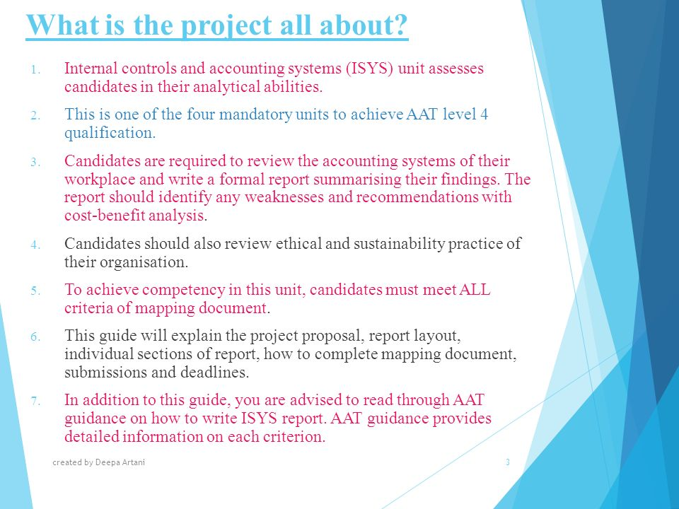 isys case study aat