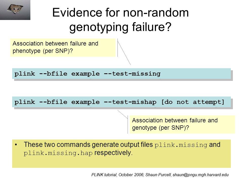 PLINK / Haploview Whole genome association software tutorial - ppt