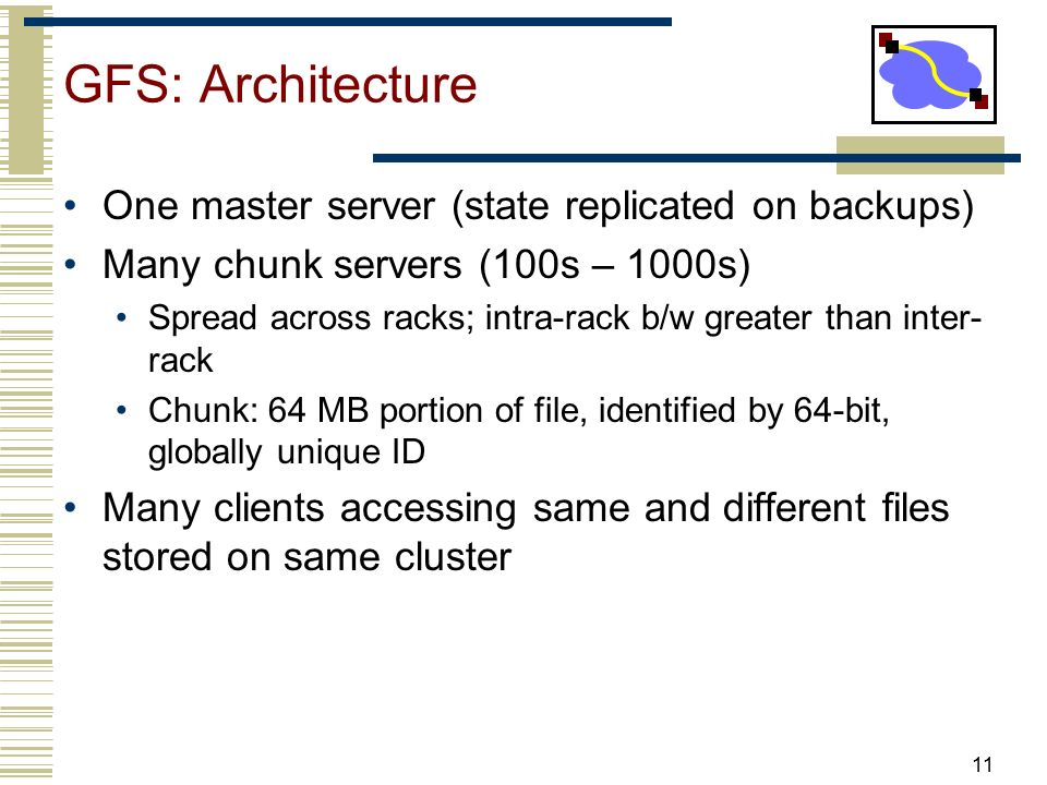 Distributed Systems GFS/HDFS  - ppt video online download