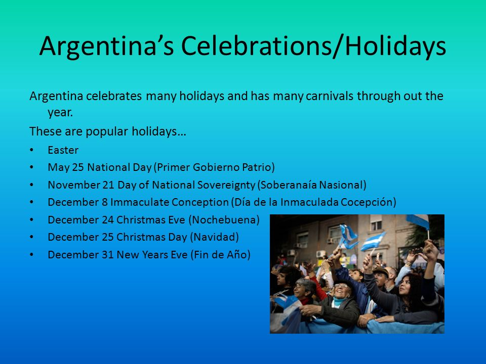 6 argentinas celebrationsholidays