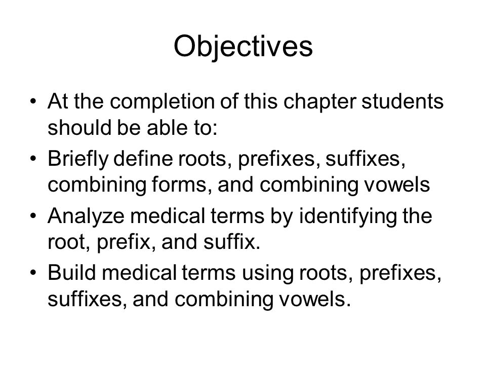 Introduction To Medical Terminology Ppt Download