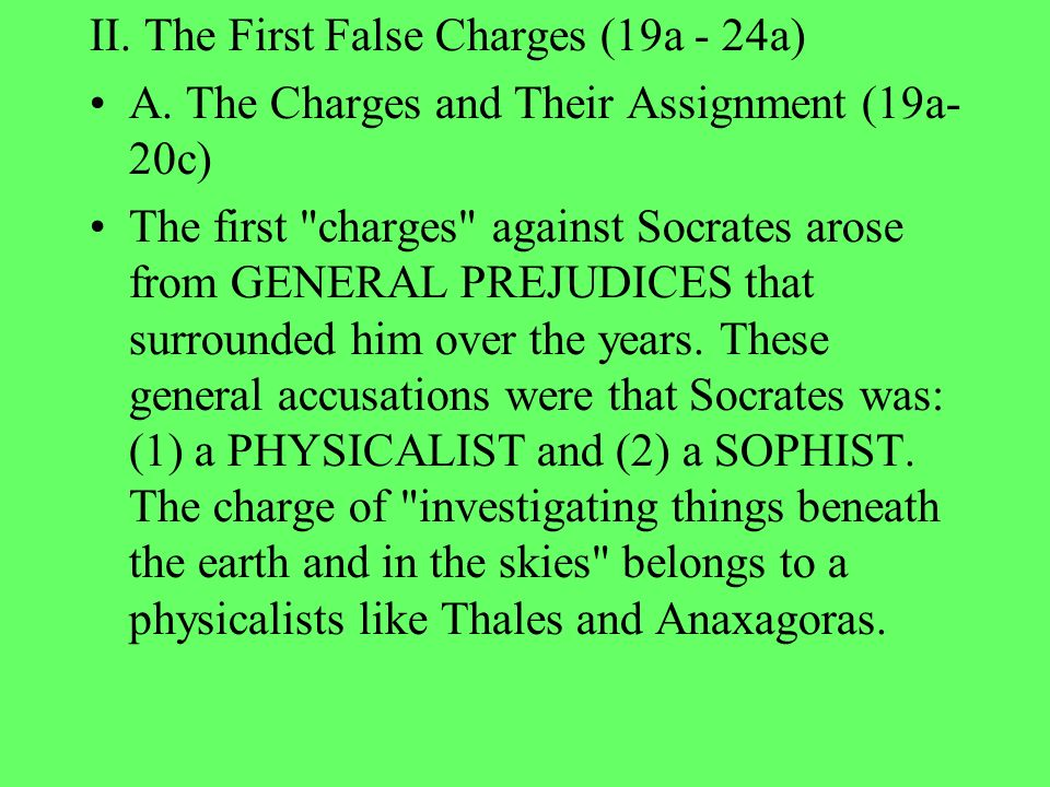 charges against socrates