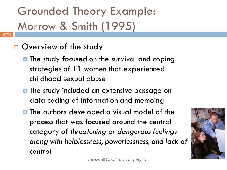 examples of grounded theory research topics