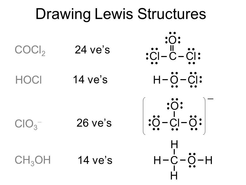 Hocl Lewis Dot Diagram Auto Wiring Diagram Today