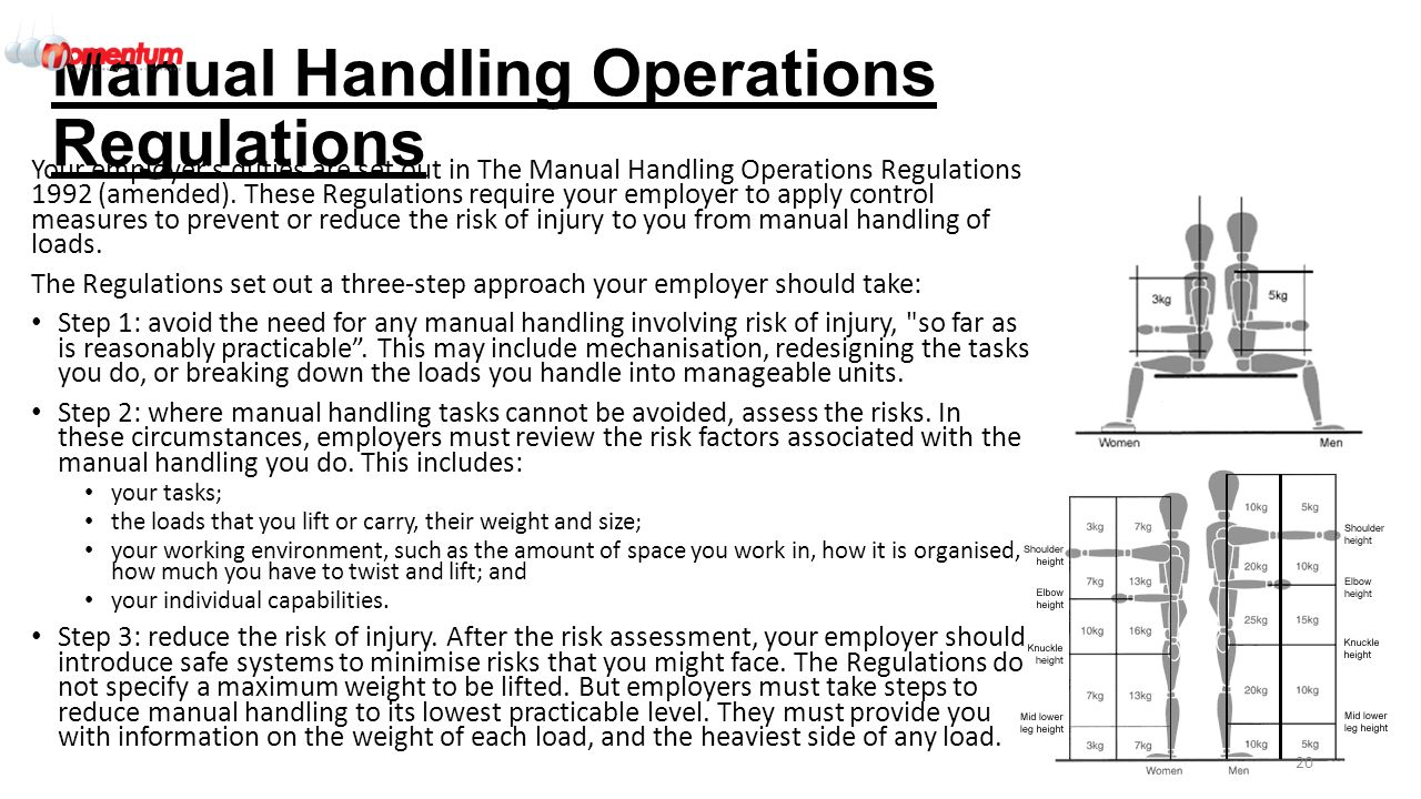 qeta 001 engineering and environmental health and safety ppt download rh slideplayer com OSHA Manual Handling Manual Handling Safety