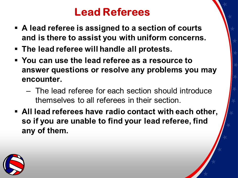 2015 aau national volleyball championships referee guidelines ppt 4 lead fandeluxe Image collections