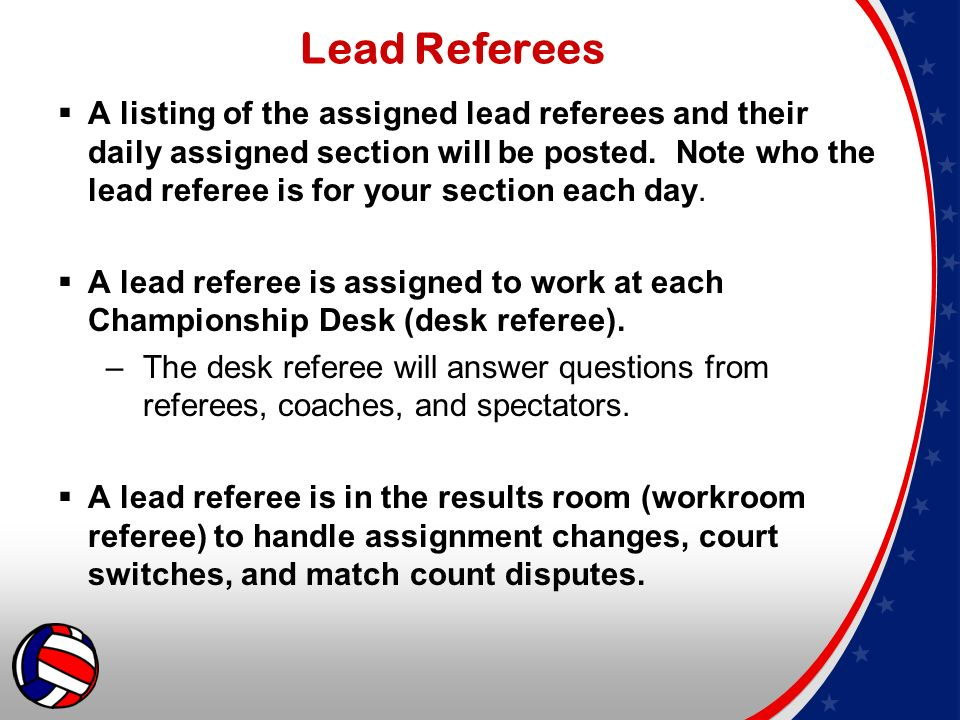 2015 aau national volleyball championships referee guidelines ppt 5 lead fandeluxe Image collections