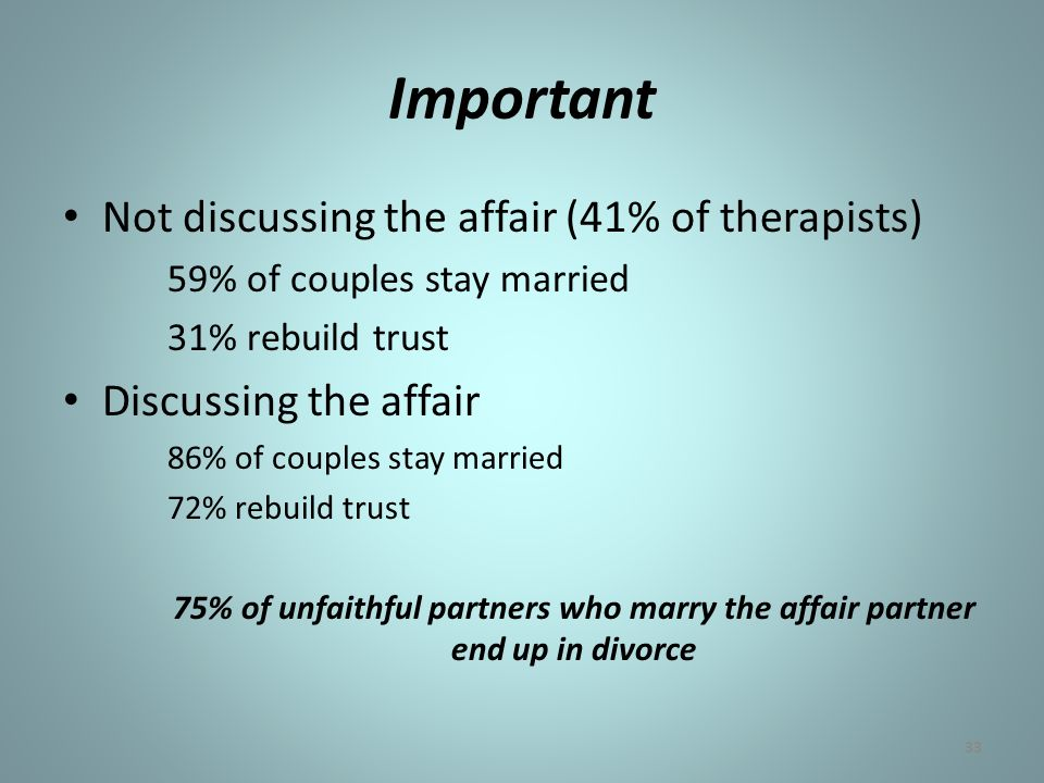 Helping Couples Heal After Infidelity - ppt download