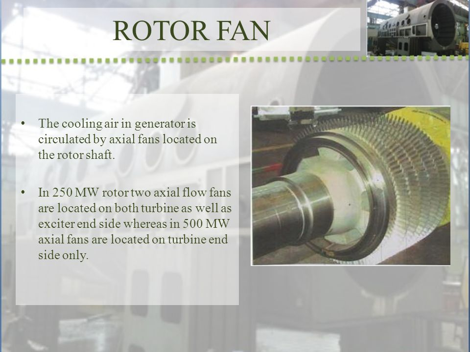 Construction of Turbo Generator - ppt video online download