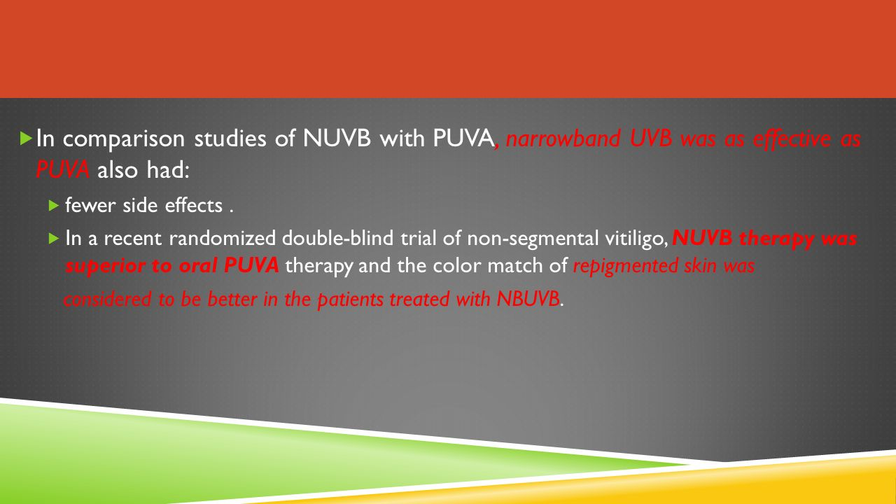 Puva Therapy in dermatology - ppt video online download