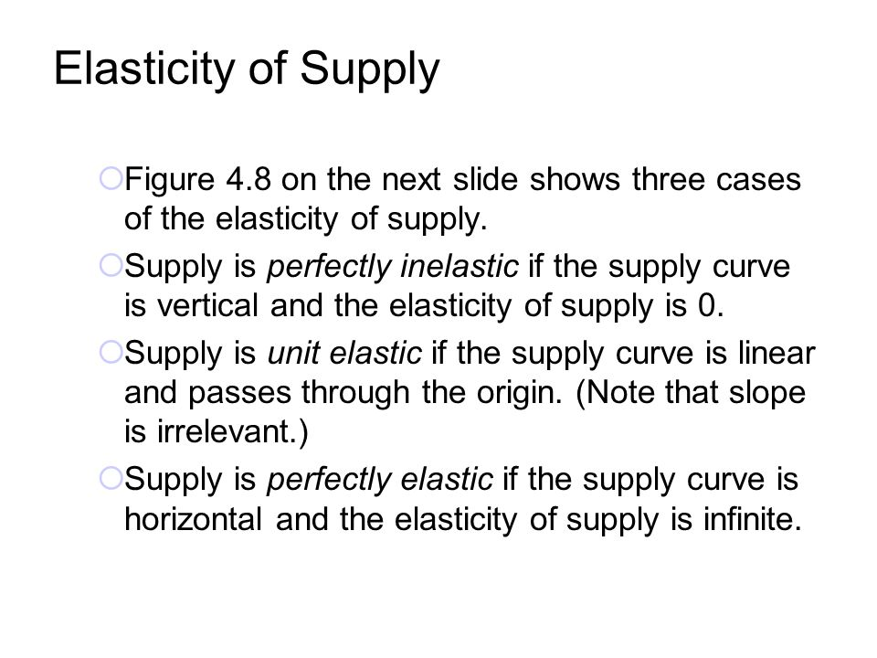 Microeconomics Chapter 4 Elasticity Ppt Video Online Download
