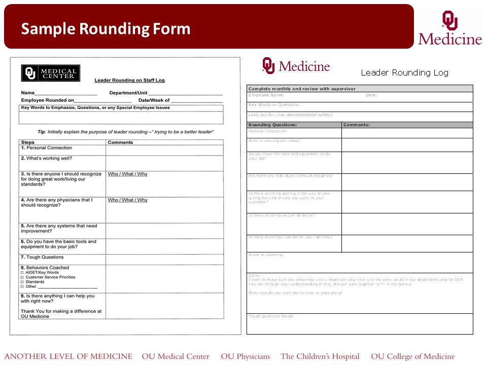 Rounding For Outcomes Internal Customers Ppt Video Online Download
