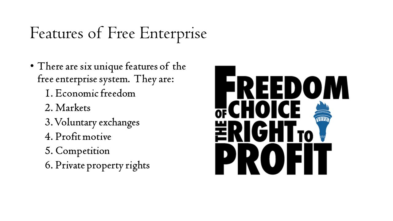 The main features of the free market - the ideal and the unattainable 83