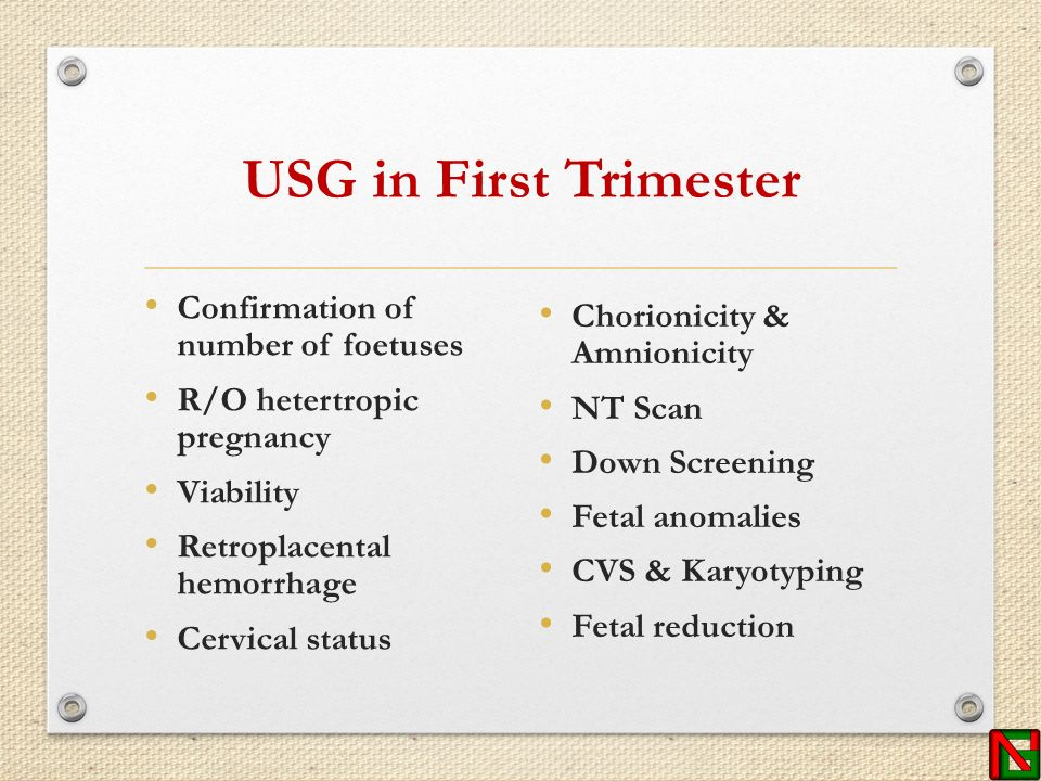 Antenatal care of twin pregnancy ppt video online download usg in first trimester confirmation of number of foetuses altavistaventures Choice Image