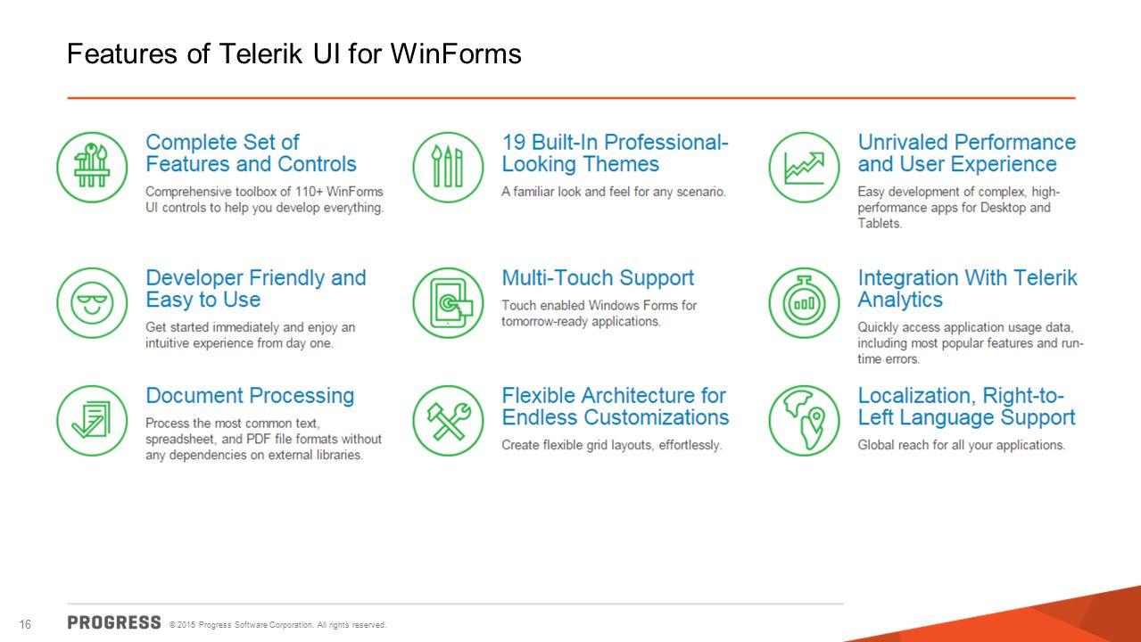 Amazing UI Modernization Using Telerik UI for WinForms - ppt
