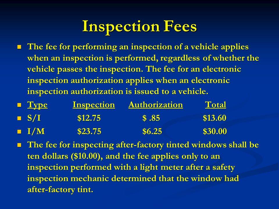 North Carolina Safety Equipment Inspection Program - ppt