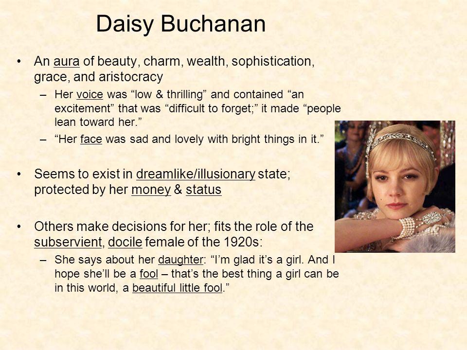 describe daisy buchanan