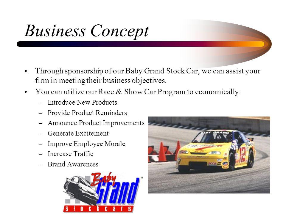 Marketing Proposal By Glenn Pelletiere Ppt Video Online Download - Show car sponsorship